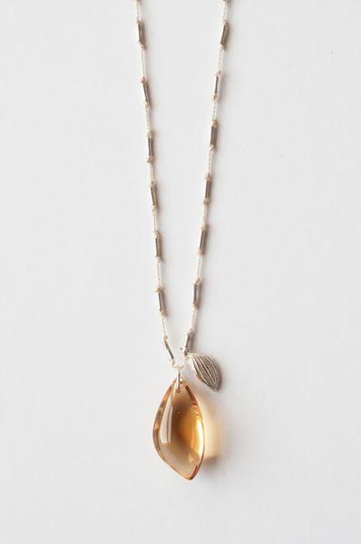 Cooperative de Creation, Citrine Seed Necklace