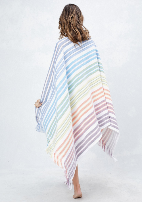 Rainbow Beach Throw