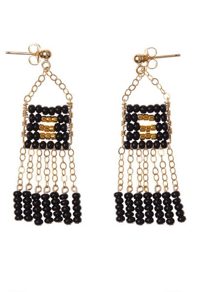 Sidai Extra Small Pendant Earring with Chain Tassel