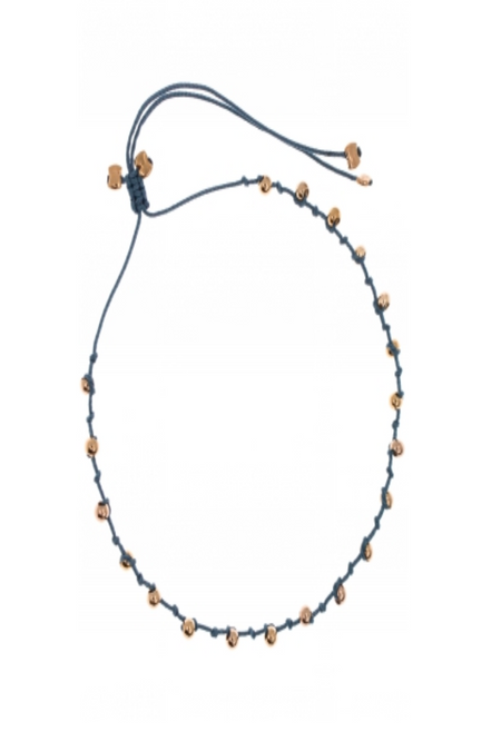 By Johanne Sunkissed Bracelet on Taupe Cord - Assorted  Colours