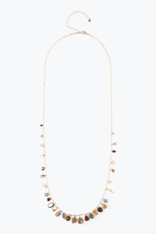 Chan Luu - Citrine Mix Necklace