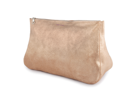 Tracey Tanner Sparkle Fatty Medium Pouch -Rose Gold