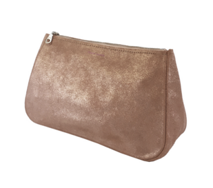 Tracey Tanner Sparkle Fatty Large Pouch - Rose Gold