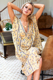 Emerson Fry, Francina Lily Lurex Caftan