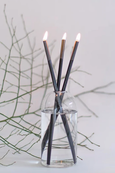 Everlasting Black Candle Set