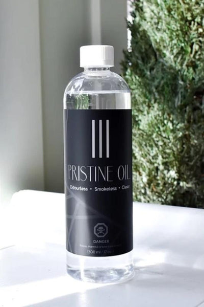 Everlasting Pristine Oil - clean burning!