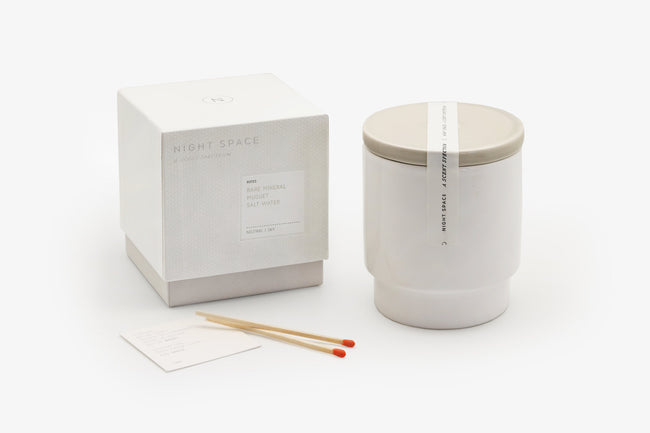 Night Space Candle - Warm Grey