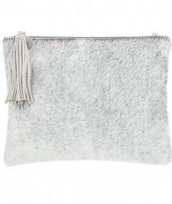 Kempton & Co. Granite and Black Small Pouch