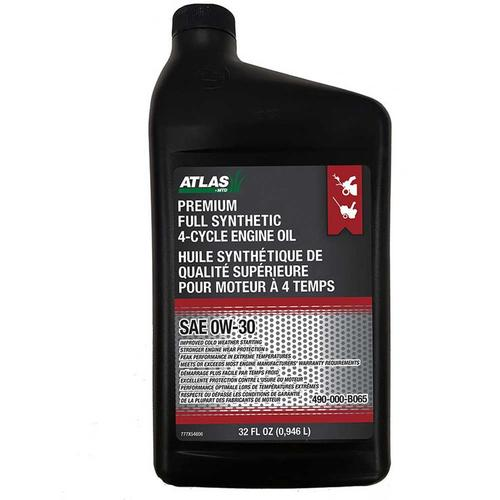 Premium Full Synthetic 4 Cycle Oil  0W-30 (490-000-B065)