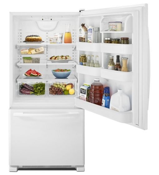 AMANA - Refrigerator - ABB2224  22 cu.ft. Bottom Mount Fridge