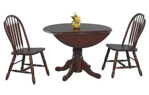Table with 2 Drop Leaves Vintage T1-VG4242
