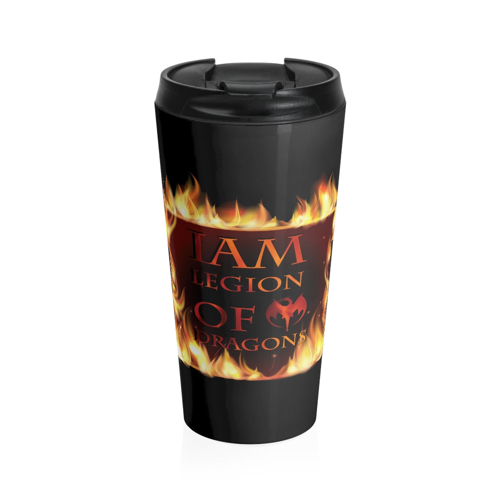 I am Legion of Dragons Stainless Steel Travel Mug