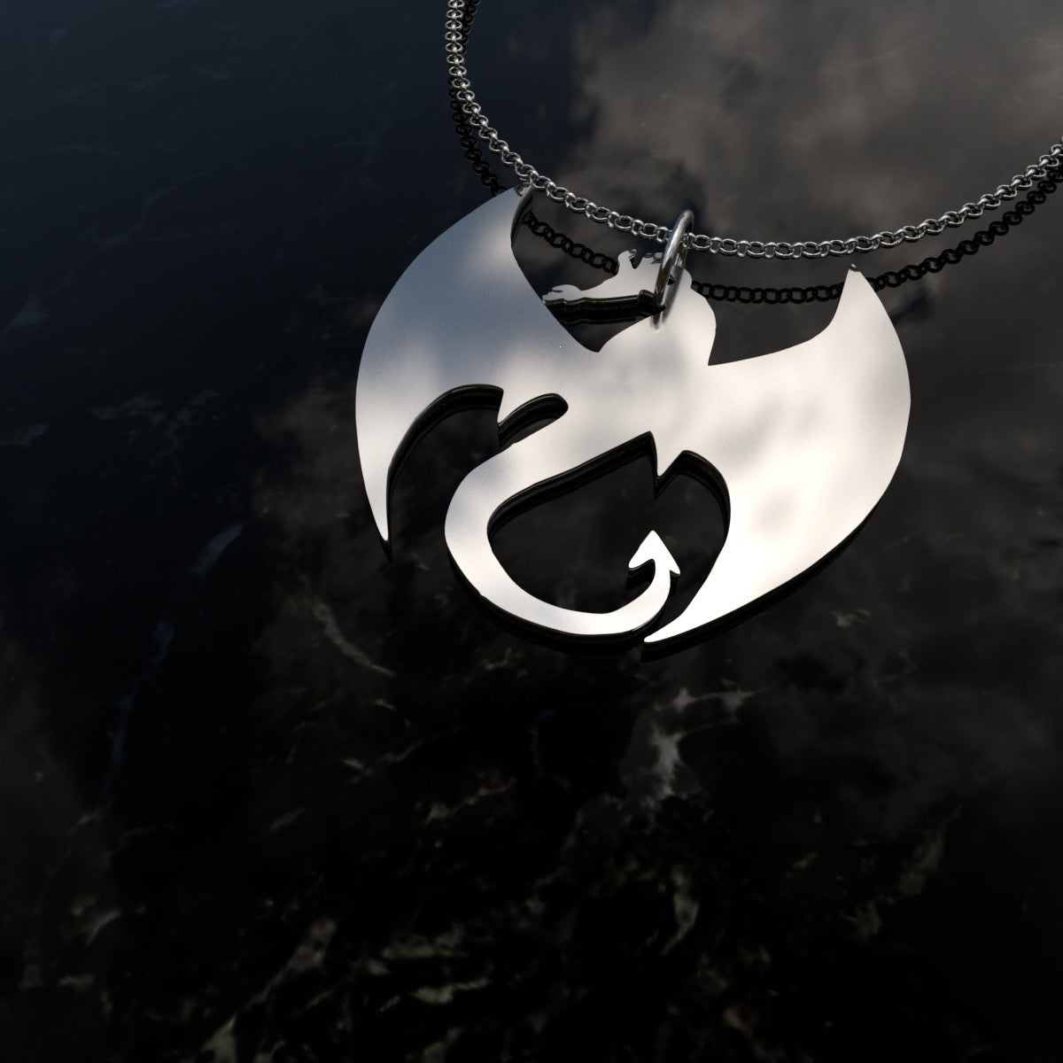 If you love Dragons and Sterling Silver then you've come to just the place! This beautiful elegant Sterling Silver Fire Dragon Pendant is made especially for you. A great reminder fo the Fire within!