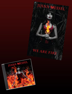 Set your world on fire! With the We Are Fire CD and 11 X 14 Poster Bundle