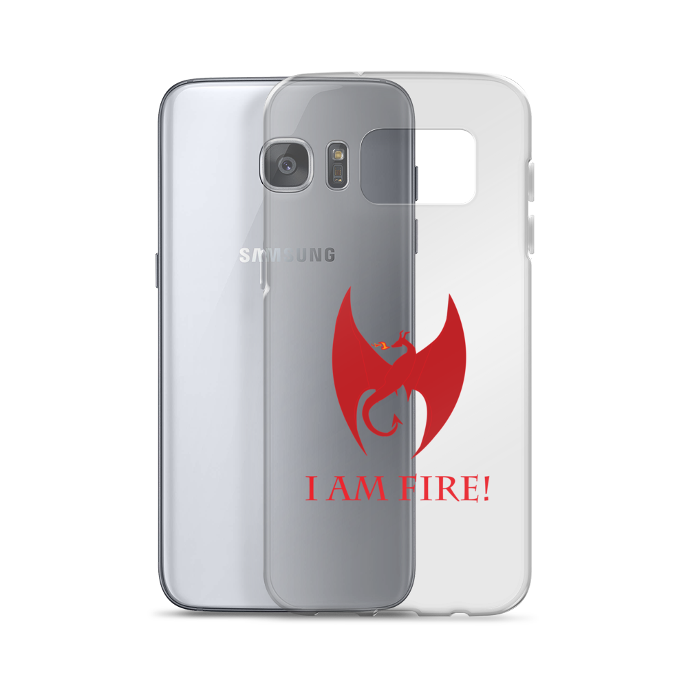 Now you can show off your inner fire with the Samsung Phone Case!