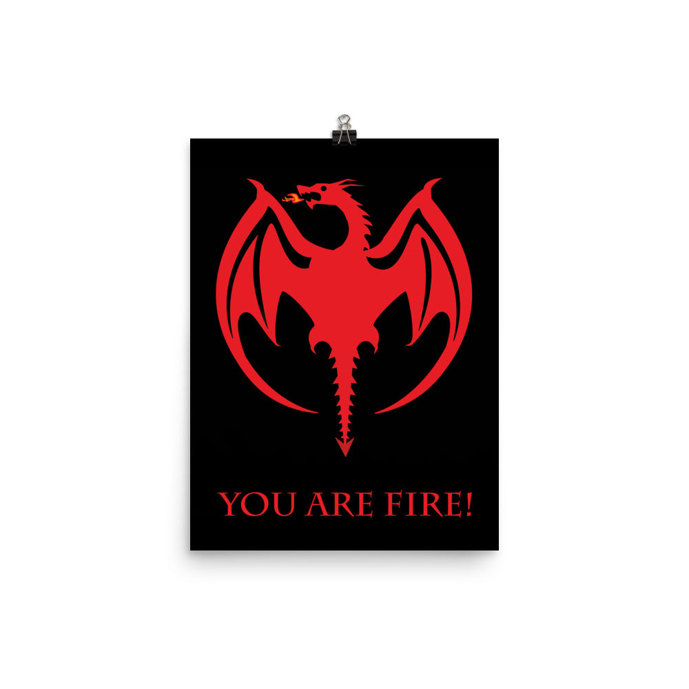 You are Fire! Poster