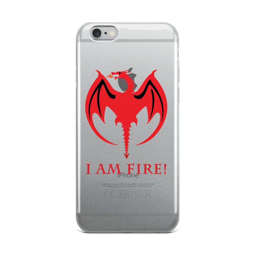 I AM Fire! IPhone case