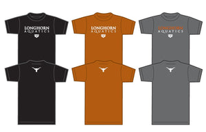 Longhorn Aquatics Team Tee (2018)