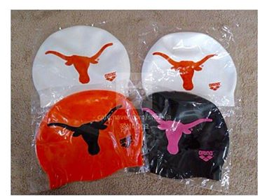 Longhorn Swim Cap - Latex