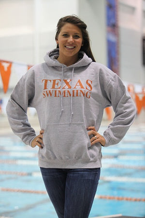 Classic Texas Swimming - Adult Hoodies