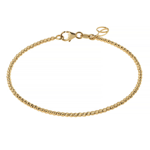 BELUGA BRACELET, YELLOW GOLD