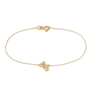 FLY AWAY WITH ME BRACELET, GOLD