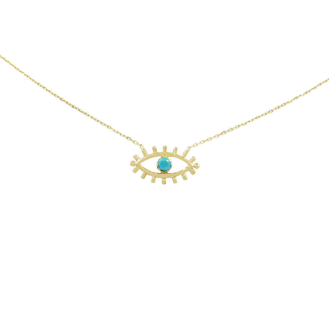 All Seeing Evil Eye Necklace