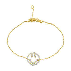 WHY SO SERIOUS PAVÉ BRACELET