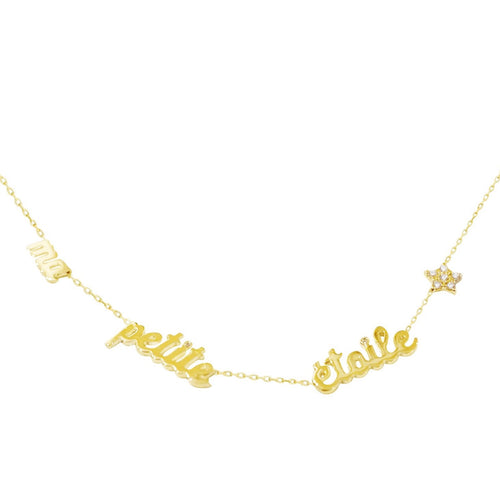 Mummy & Me Bespoke Personalised Name Necklace