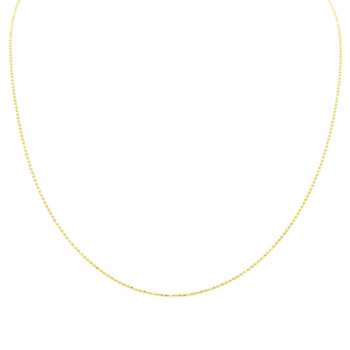 SHORT BELUGA CHAIN, GOLD
