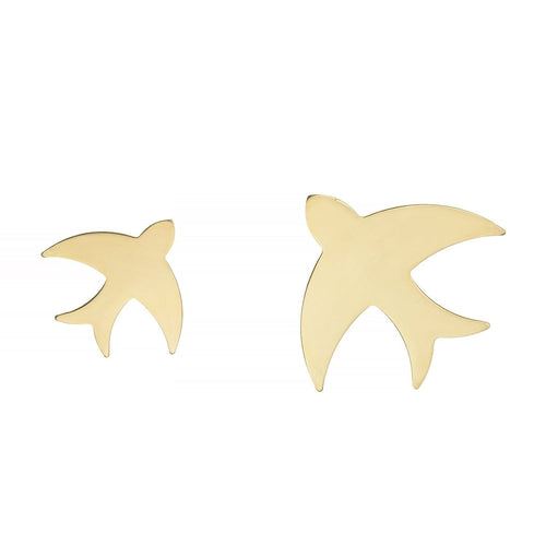 MINI & MAXI FLY ME TO MOON EARRINGS