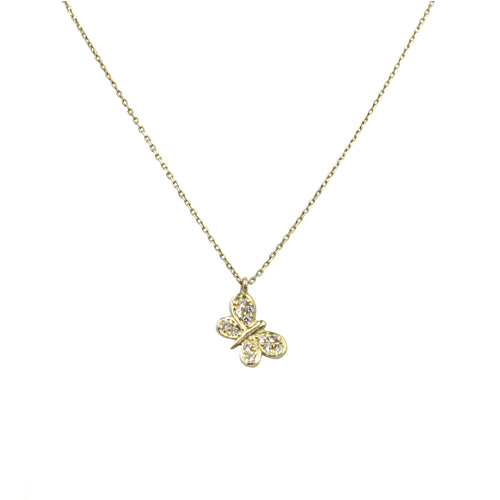 FLY AWAY WITH ME NECKLACE, GOLD