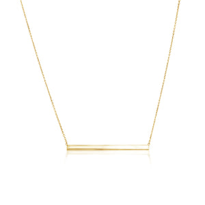 FINISH LINE NECKLACE GOLD