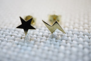 Midnight Blitz Stud Earrings