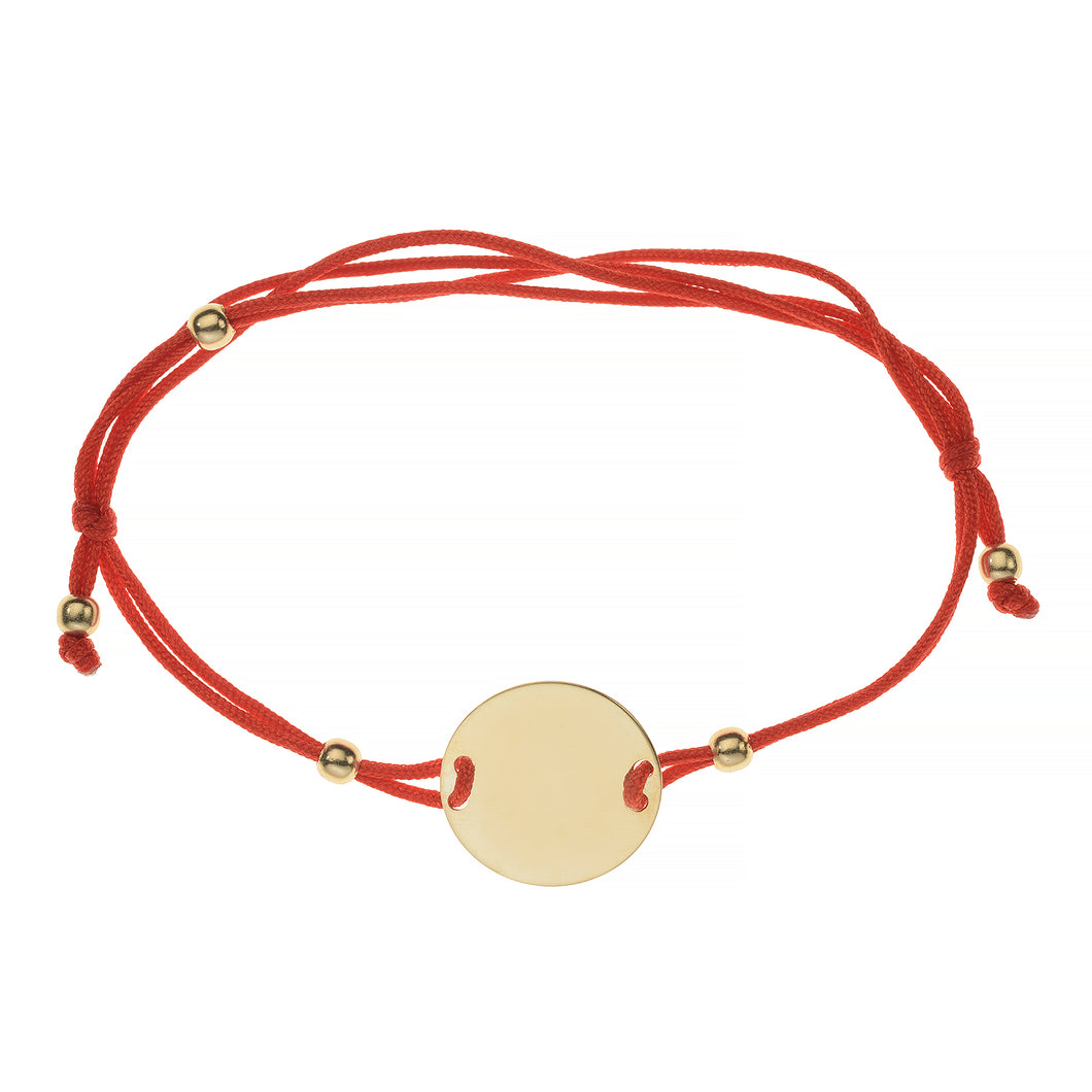 GOLDEN ECLIPSE KABALLAH BRACELET