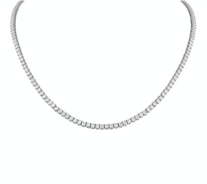 Collar de tenis de diamantes de 6 ct