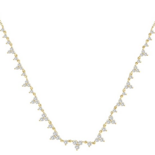 Collares Trinity Diamond - Ajustable