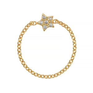 WISH UPON A STAR CHAIN RING, GOLD ONLINE EXCLUSIVE