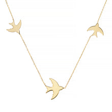 FLY ME TO THE MOON NECKLACE, GOLD