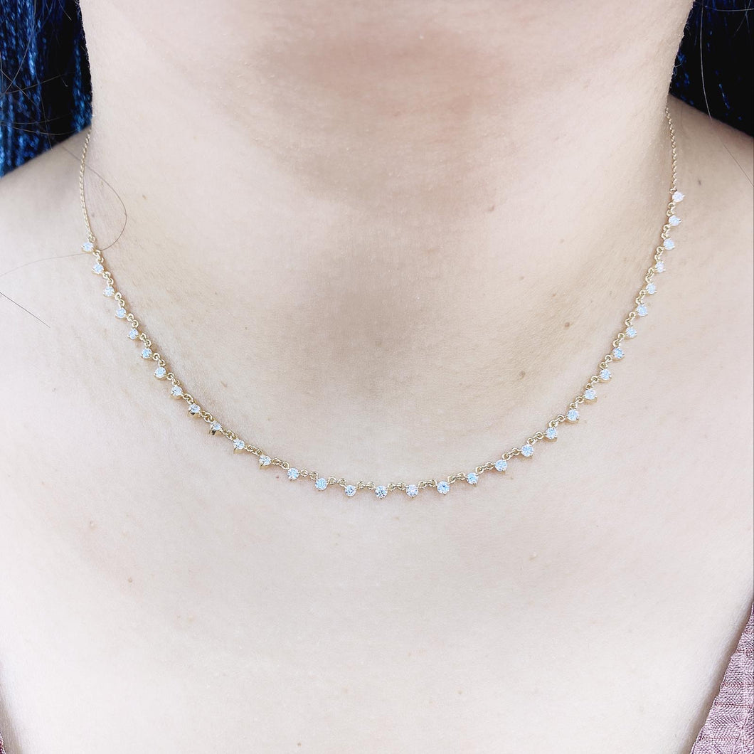 Diamonds by the Yard Necklace- Adjustable