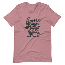 Home Is Where My Herd Is Tee Shirt (6149680464027)