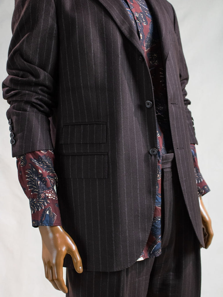 Polo Pinstripe Suit