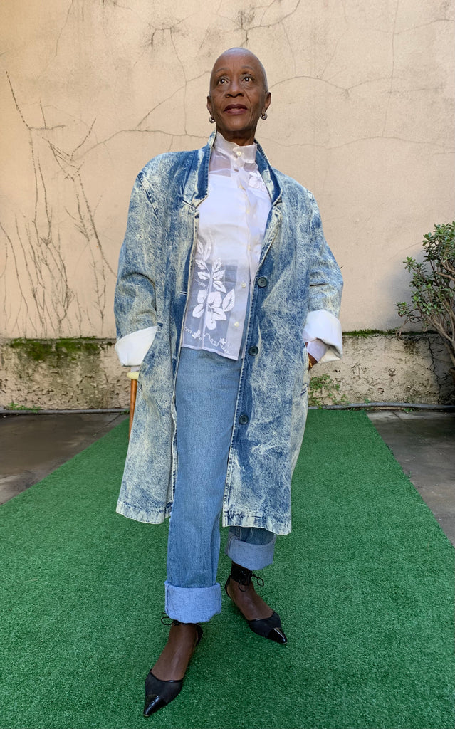 Vintage 80's Denim Coat