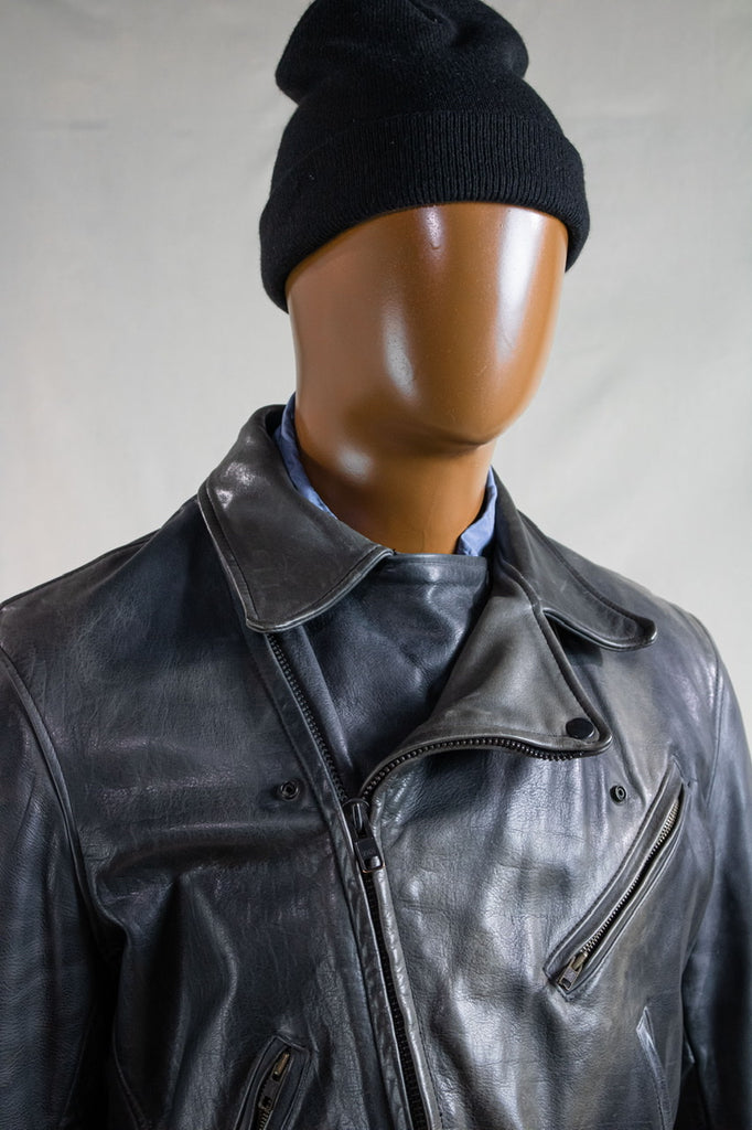 Vintage Johnson's Leather Moto Jacket