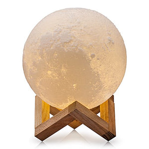 3D Printed LED Moon Lamp from ObJae