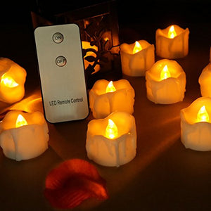 LED Remote Control Candles (Set of 12) from ObJae