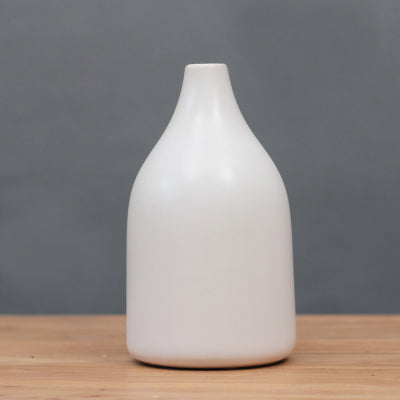 Kaori Handmade Narrow Mouth Ceramic Vase from ObJae