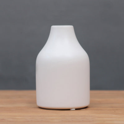 Kaori Handmade Wide Mouth Ceramic Vase from ObJae