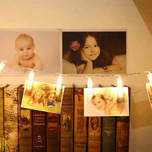 Golden Memory LED Photo Clips from ObJae