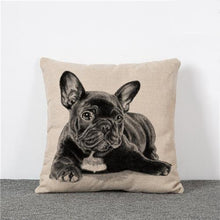 French Bulldog Pillow Cover from ObJae
